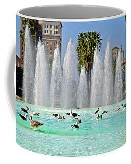 Long Beach Fountain Pool Coffee Mug