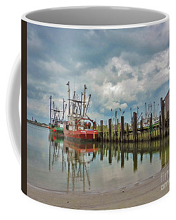 Long Beach Island Docks Coffee Mug