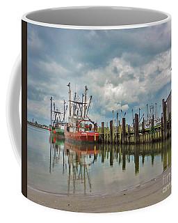 Long Beach Island Docks Coffee Mug
