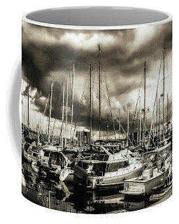 Long Beach Marina Bad Bo Coffee Mug by Joseph Hollingsworth