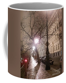 Long Cobblestone Street Of Prague Coffee Mug