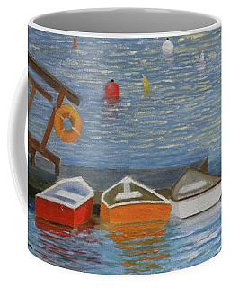 Long Cove Dock Coffee Mug