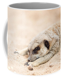 Long Day In Meerkat Village Coffee Mug
