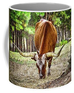 Long Horn Steer Coffee Mug by Melissa Messick