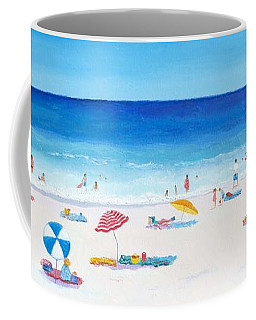 Long Hot Summer Coffee Mug by Jan Matson