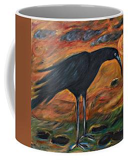 Long Legged Crow Coffee Mug