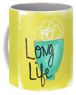 Long Life Noodles- Art By Linda Woods Coffee Mug