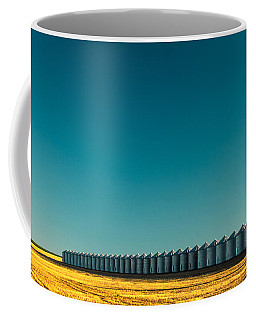 Long Line Of Bins Coffee Mug