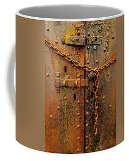 Long Locked Iron Door Coffee Mug