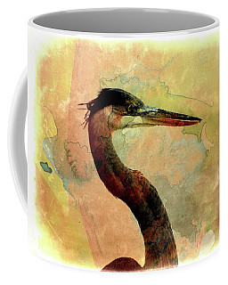 Coffee Mug featuring the photograph Long Neck 2 by Marty Koch