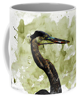 Coffee Mug featuring the photograph Long Neck 5 by Marty Koch