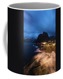 Coffee Mug featuring the photograph Long Nights by Alex Lapidus