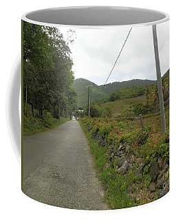Long Road Into Colombier Coffee Mug