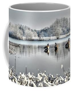 Geese At Long Run Pond Coffee Mug