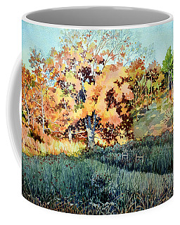Long Shadow On The Old Cattle Trail Coffee Mug