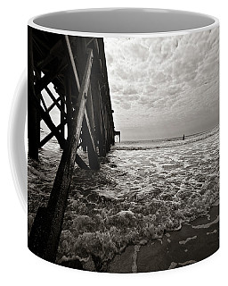 Coffee Mug featuring the photograph Long To Surf by David Sutton