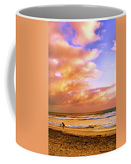 Coffee Mug featuring the photograph Long Walk Home by Howard Bagley