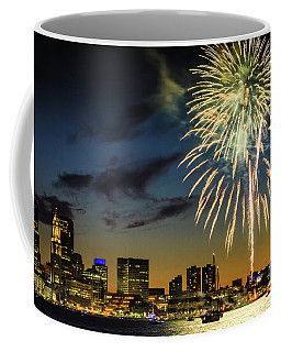 Long Warf Fireworks 1 Coffee Mug by Mike Ste Marie