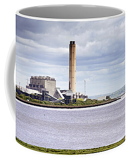 Coffee Mug featuring the photograph Longannet Power Station by Jeremy Lavender Photography