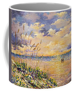 Longboat Key Hockleys View Coffee Mug by Lou Ann Bagnall