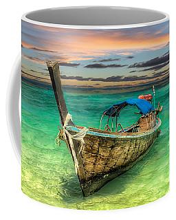 Longboat Sunset Coffee Mug