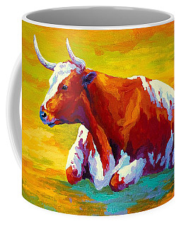 Longhorn Cow Coffee Mug