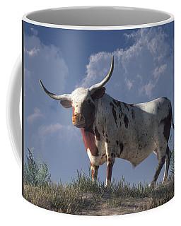 Longhorn Coffee Mug by Daniel Eskridge