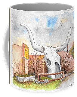 Longhorn Grill And Restaurant, Amado, Arizona Coffee Mug