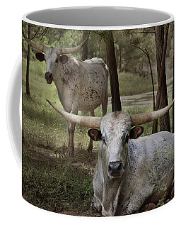 Longhorns On The Watch Coffee Mug