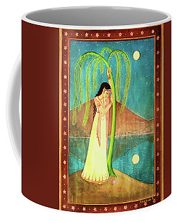 Longing For Her Love Coffee Mug by Ananda Vdovic
