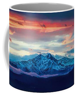 Longs Peak At Sunset Coffee Mug