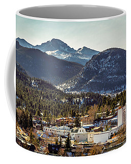 Longs Peak From Estes Park Coffee Mug