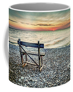 Lonley Bench Coffee Mug