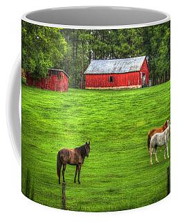 Look At Me Horses Coffee Mug