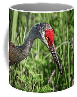 Look Down Crane Coffee Mug