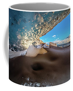 Look Out From Glacier Cave Coffee Mug