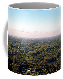 Coffee Mug featuring the photograph Look Out Mountain by Debra Forand