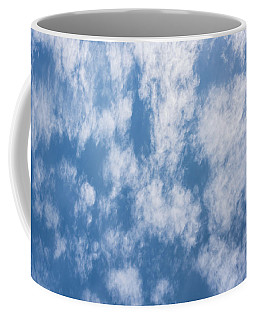 Look Up Not Down Clouds Coffee Mug by Terry DeLuco
