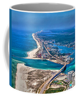 Looking West Across Perdio Pass Coffee Mug