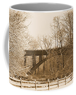 Looking At Henrey Av. Brige Coffee Mug