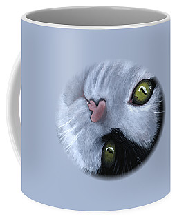 Looking At You Coffee Mug by Anastasiya Malakhova