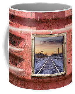 Coffee Mug featuring the photograph Looking Back by James BO Insogna