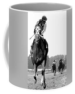 Looking Back, 1973 Secretariat, Stretch Run, Belmont Stakes Coffee Mug