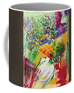 Looking Beyound The Present Coffee Mug by Sima Amid Wewetzer
