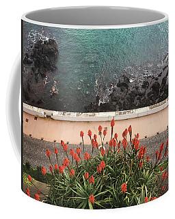 Looking Down, Angra Do Heroismo, Terceira Island Of Portugal Coffee Mug