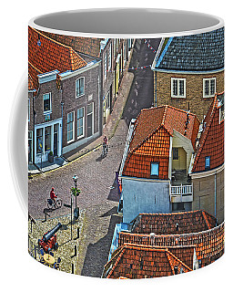 Looking Down From The Church Tower In Brielle Coffee Mug