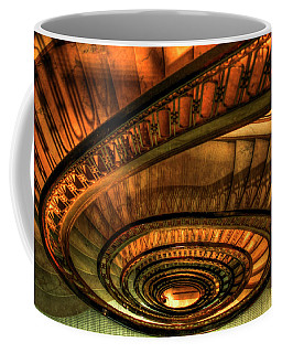Looking Down The Ponce Stairs Opened In 1913 Coffee Mug by Reid Callaway