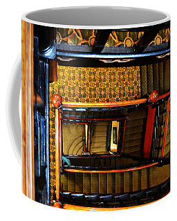 Coffee Mug featuring the photograph Looking Down by W And F Kreations