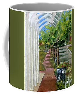 Looking Down Willingham Park Coffee Mug