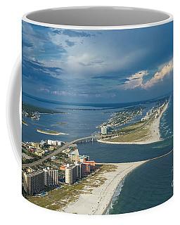 Looking East Across Perdio Pass Coffee Mug